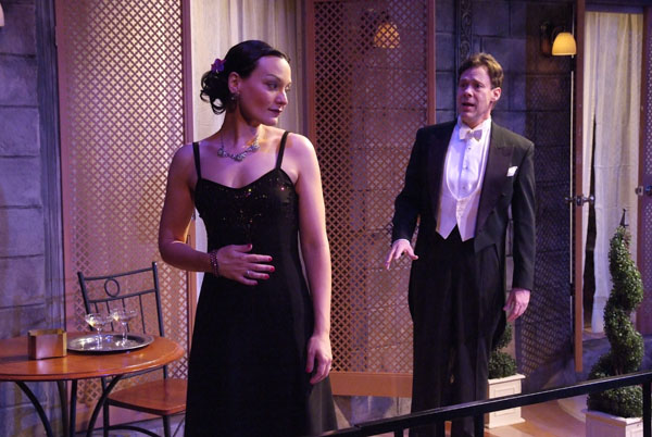 Julie Granata and Joseph Fuqua in 'Private           Lives'