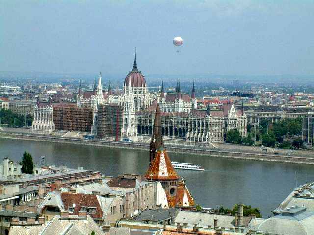 Photo of the Parliament in Budapest, Hungary